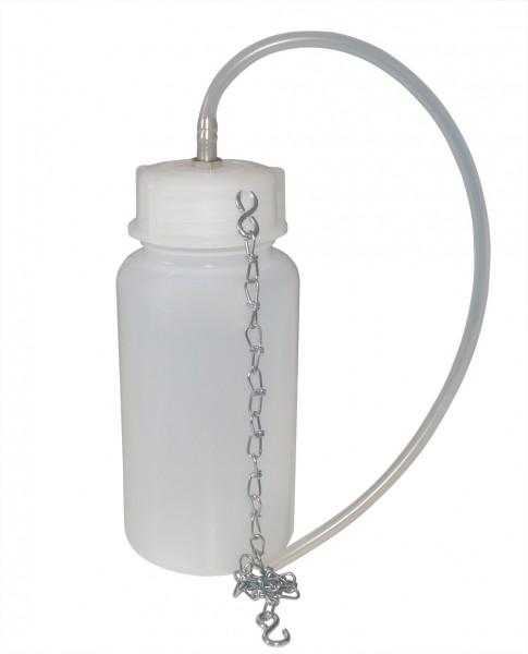 Auffangflasche für Flüssigkeit, 1L mit Kettenhalterung
