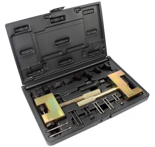 Nietwerkzeug für Doppel und Einfach Steuerketten für Benzin und Diesel Motoren