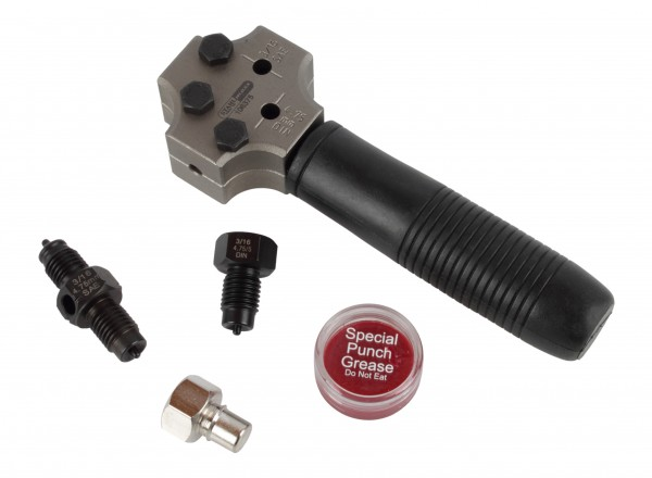 Kompaktes Leitungs-Bördelgerät für Anwendung am Fahrzeug
