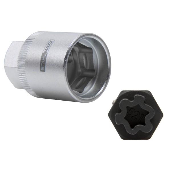 Einsatz-Steckschlüssel für Felgenschloss wie OEM T10313-521 VW