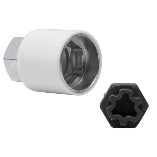 Einsatz-Felgenschloss für Steckschlüssel wie OEM T40073-806