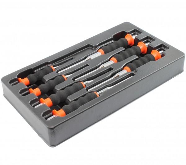 Splinttreiber, Durchschläger, Splintentreiber 7-teilig. 2 3 4 5 6 7 8mm