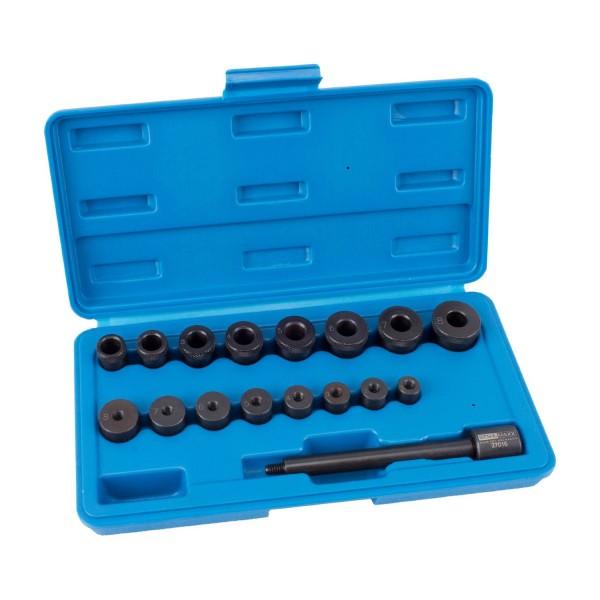 Kupplungs-Zentrierwerkzeug, 17-tlg.