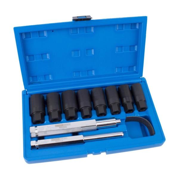 Felgenschloss-Demontage-Werkzeug, universell, 10-tlg.