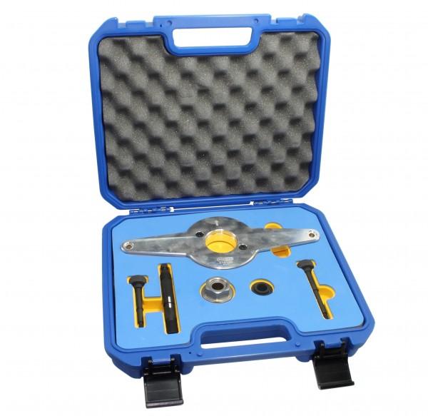 Montagevorrichtung wie T10531 VW Spezialwerkzeug, De- und Montage des Schwingungsdämpfers