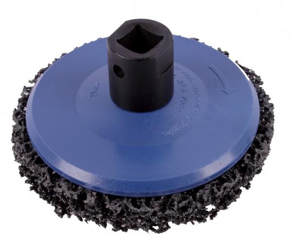 Schleiftopf zum Reinigen Entrosten etc. Ø 105 mm für Radnaben