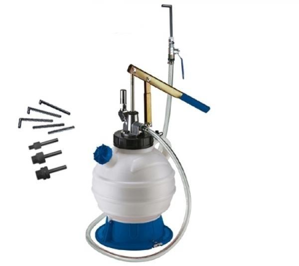 Öl-Einfüllgerät für Getriebe und Differential inkl. 8-tlg. Adaptersatz