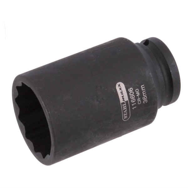 Einsatz-Kraft-Steckschlüssel 36mm, 1/2, 12-kant