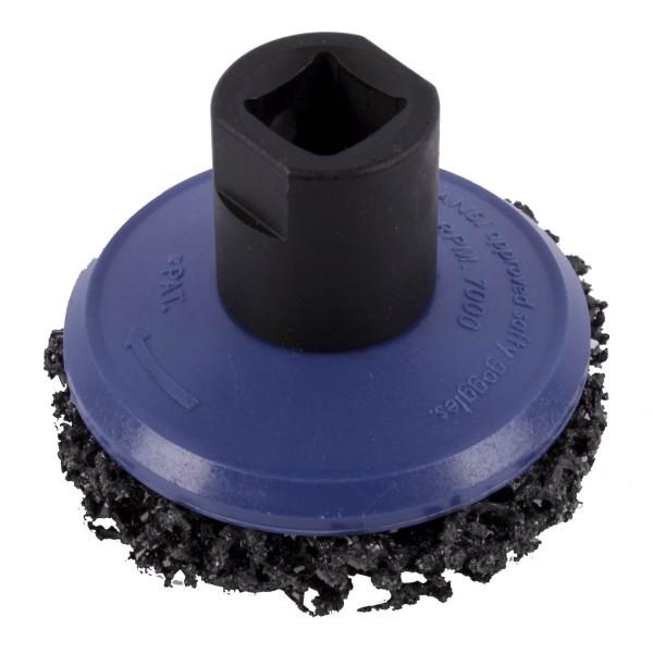 Schleiftopf zum Reinigen Entrosten etc. Ø 65 mm für Radnaben